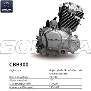 Yinxiang Engine CBB300 BODY KIT ENGINE PARTS COMPLETE SPARE PARTS ORIGINAL SPARE PARTS
