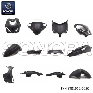 LONGJIA Fomula complete fairing kit -Matt black (P/N:ST01012-0030) Top Quality
