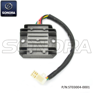 GY6-50,139QMAB ,GY6-125 152QMI full wave charging Rectifier (P/N: ST03004-0001) Top Quality