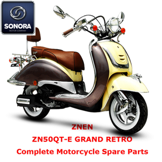 Znen ZN50QT-E GRAND RETRO Complete Scooter Spare Part