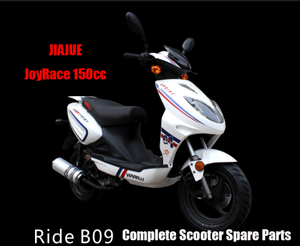 Jiajue Ride B09 150 Scooter Parts