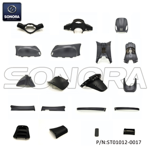 ZNEN ZN50QT-30A RIVA BODY KIT(ROUND HEADLIGHT) MATT BLACK GREY WLBK014 19PCS (P/N:ST01012-0017) Top Quality