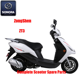 Zongshen ZT3 Complete Scooter Spare Parts Original Spare Parts