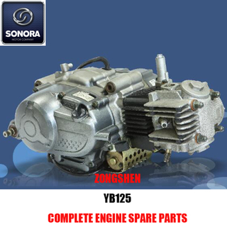Zongshen YB125 Complete Engine Spare Parts Original Parts