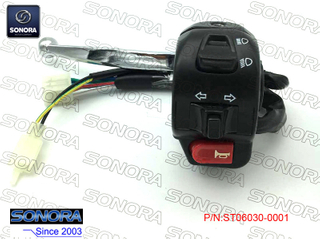 BAOTIAN BT49QT-9F3(3C)L. Handle Switch Assy-with Silver Lever (P/N:ST06030-0001) Top Quality