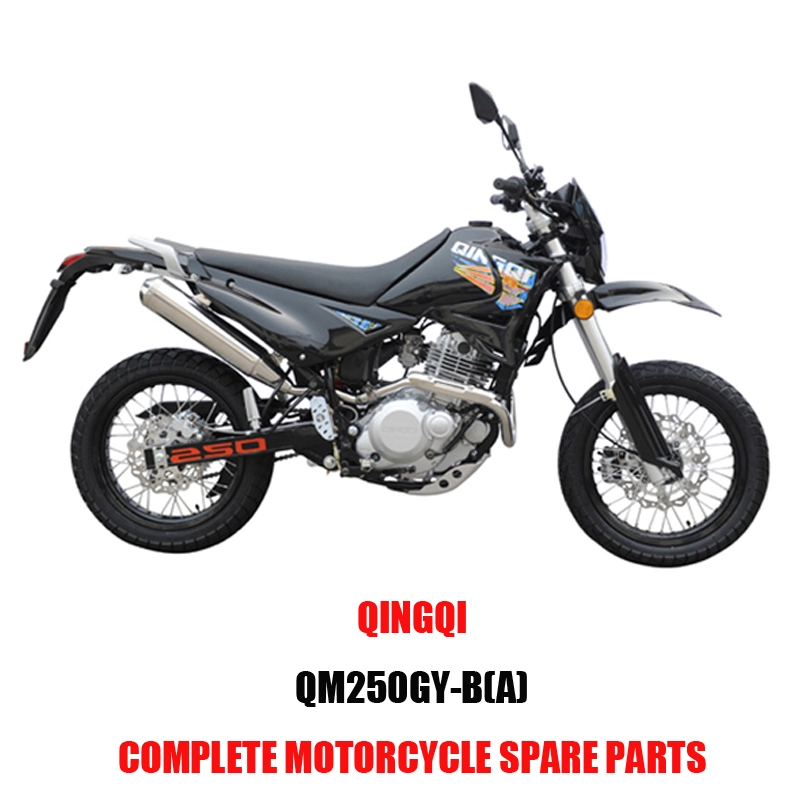 QINGQI QM250GY-B A Engine Parts Motorcycle Body Kits Spare Parts Original