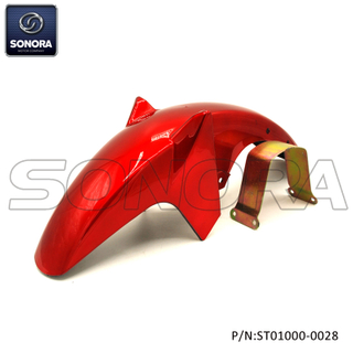 YAMAHA YBR125 Front fender Red(P/N:ST01000-0028) Top Quality