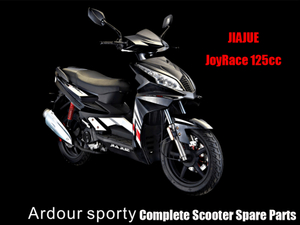 Jiajue Ardour Sporty125 Scooter Parts Complete Scooter Parts
