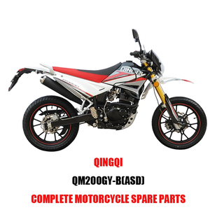 QINGQI QM200GY-B ASD Engine Parts Motorcycle Body Kits Spare Parts Original