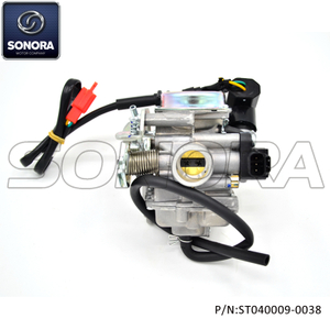 DELLORTO E carburetor for SYM, PEUGEOT (P/N:ST04009-0038) Top Quality