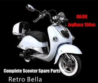 Jiajue Retro Bella 150 Scooter Parts Complete Scooter Parts