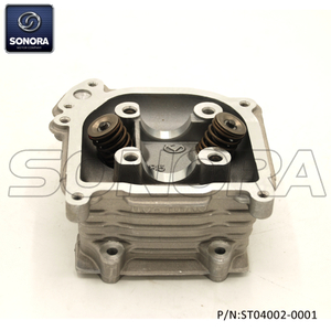 GY6-70 139QMA/B Cylinder Head With Valve With EGR (P/N:ST04002-0001)Top Quality