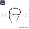 PIAGGIO RUNNER , TYPHOON Rear brake cable 563753e (P/N:ST06034-0020) Top Quality