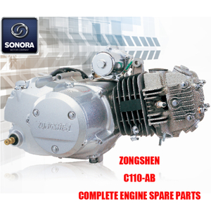 Zongshen C110-AB Complete Engine Spare Parts Original Parts
