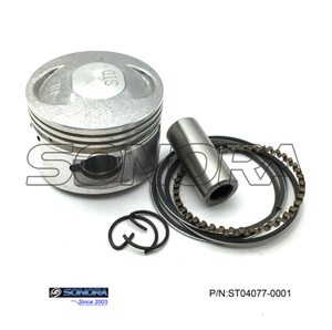 GY6 60CC 139QMB Piston Kit 44MM(P/N:ST04077-0001) top quality