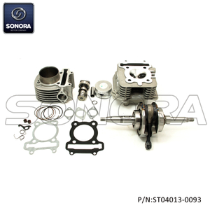 SYM ANL, SCOMADI, ROYAL ALLOY 170CC PERFORMANCE CYLINDER KIT(P/N:ST04013-0093) top quality