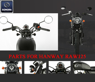 Hanway RAW125 Complete Spare Part