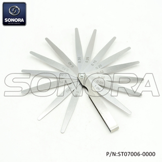Feeler gauge 13 blades 0.05-1.00mm (P/N:ST07006-0000) Top Quality
