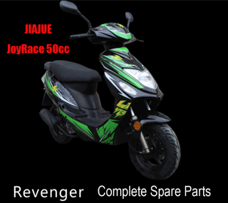Jiajue Revenger Scooter Parts Complete Scooter Parts